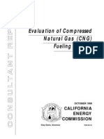 Evaluation of Compressed Natural Gas (CNG) Fueling Systems