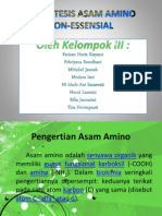Biosintesis Asam Amino Non-essensial