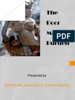 The Poor Man's Burden Presentation