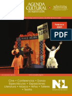 Agenda cultural   febrero 2009