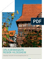 Urlaubsmagazin Mit Gastgeberverzeichnis Der Region Hildesheim 2013