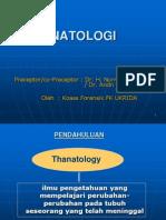 Tanatologi Ppt Uci - Vivi