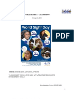 World Sight Day 2011 Press Document