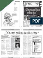 Versión impresa del periódico El mexiquense 28 de noviembre 2012