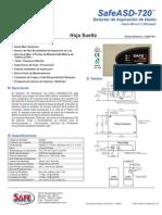 Detector de Aspiración de Humo SAFE ASD 760