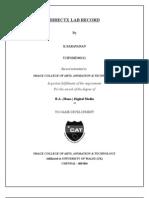 d3d Assignments Record