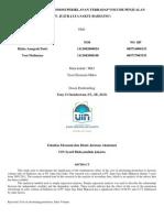 JURNAL TEORI MIKRO EKONOMI - Pengaruh Biaya Promosi Periklanan Terhadap Volume Penjualan (Rizka - Yosi)