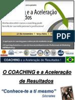Palestra Coaching Aceleração de Resultados