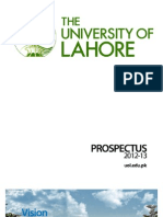 The University of Lahore Prospectus