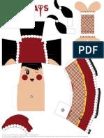 Eurodesk Festive Papergirl