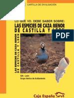 Esp Caza Menor Castilla Leon