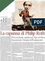 Alessandro Piperno Su Philip Roth - La Lettura 25.11.2012