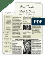 Newsletter Volume 4 Issue 46