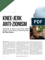 Knee-Jerk Anti-Zionism