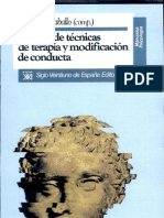 92018325 Manual de Tecnicas de Terapia y Modificacion de Conducta