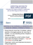 Kevin Browne - Transforming services for children without parents