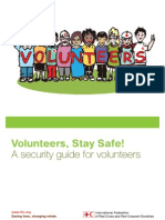 Volunteers, stay safe! A security guide for volunteers