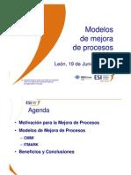 Mejora de Procesos - Modelos