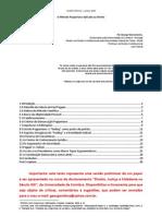 Versão Preliminar - O Método Popperiano Aplicado ao Direito