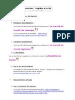 révisions 2008-2009 marché du travil