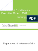 DoD, ED, VA Presentation on EO 13607