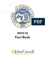 JCU Fact Book 2012-2013