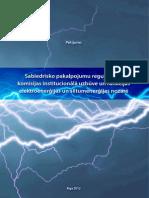 Sabiedrisko pakalpojumu regulēšanas  komisijas institucionālā uzbūve un funkcijas  elektroenerģijas un siltumenerģijas nozarē