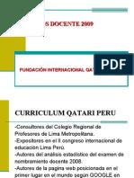 Curso nombramiento  Docente 2009