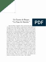 Un cuento de Borges La casa de Asterión de Anderson Imbert