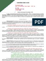 CONVÊNIO ICMS 143-SPED FISCAL