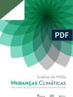 Mudanças Climáticas - Análise de Mídia - 1º Semestre 2008