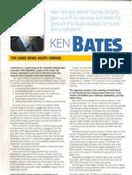 Ken Bates Programme Notes Leeds United vs Leicester City 27.11.12 P1