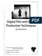 Textual Analysis of Film and Video - Module Number