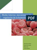 Medio Interno Mecanismos Homeostaticos