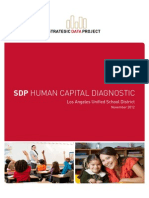 SDP HUMAN CAPITAL DIAGNOSTIC Los Angeles Unified School District November 2012