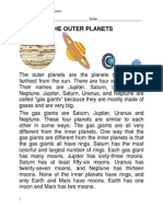 Outer Planets Review