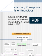 (02)  Metabolismo y Transporte de Aminoácidos -04- DRA. SUAR