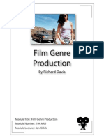 Film Genre Production. Module Number 104 AAD