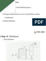 21 1. Distillation