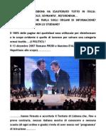 Il Trattato Di Lisbona Prodi-d'Alema .Brevi note