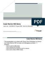 Code Warrior i de Demo