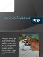 Alunecările de teren