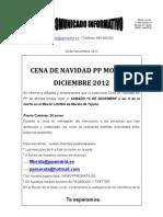 Cena Navidad 2012