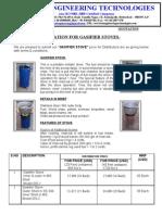 Gasifier Stove Qtn STD