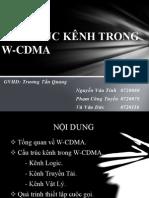 cấu trúc kênh trong WCDMA