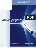 Earth friendly LED fixtures for fluorescent tube replacement
