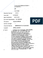 561231 Intelligence Memorandum
