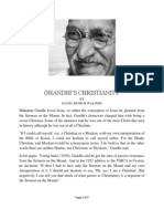 Ghandi's Christianity by David Arthur Walters