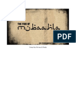 The Fiqh of Mubaahlah