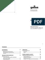 Standardization Uv Flexo Manual